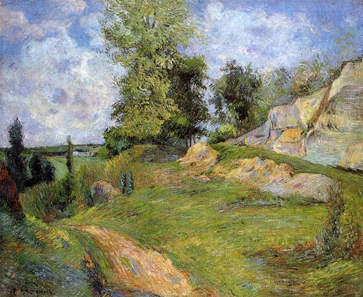 Quarries at Pontoise II, 1882 - Paul Gauguin