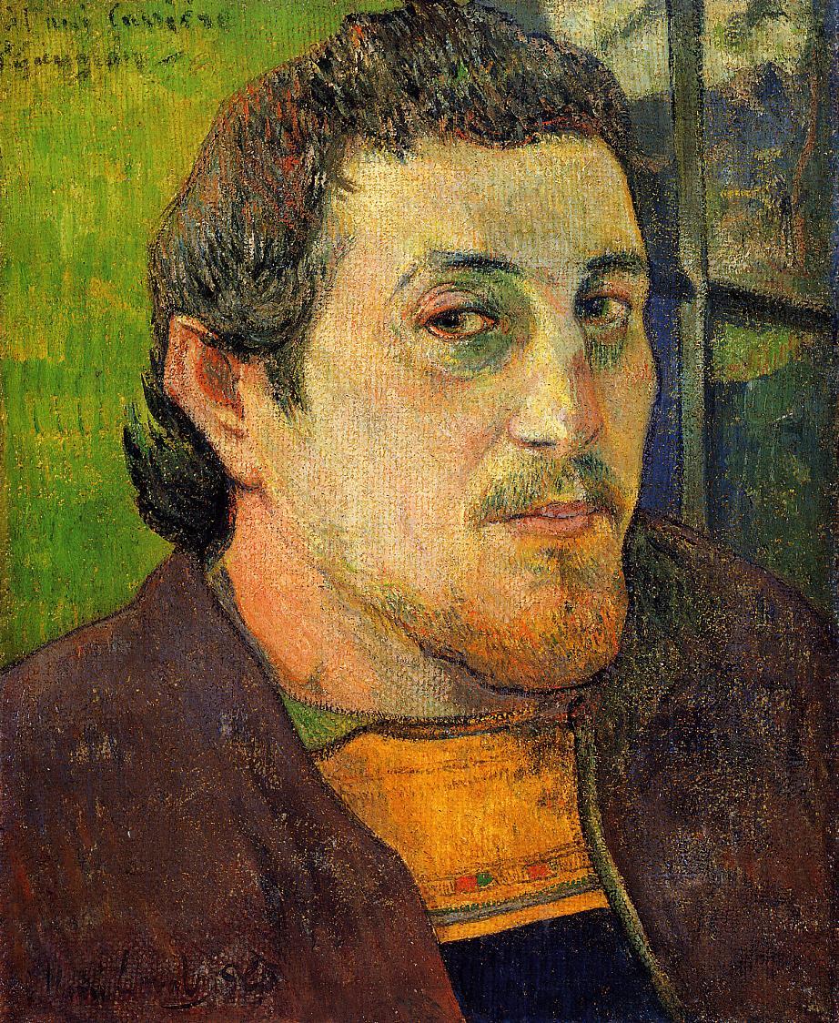 Self portrait at lezaven