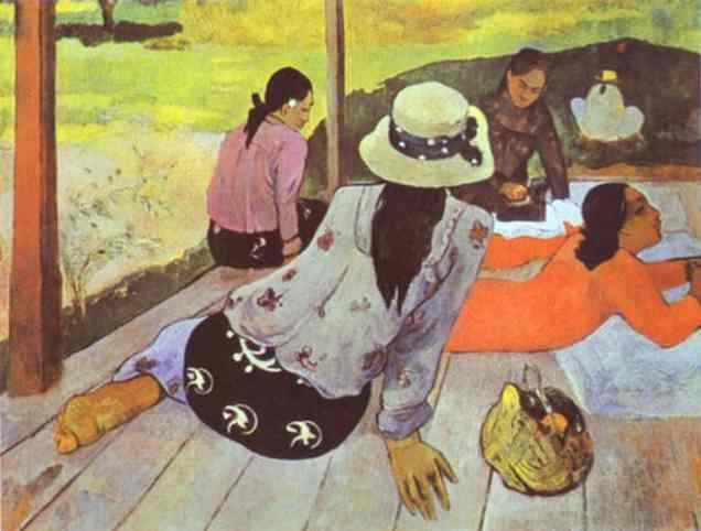 Siesta, 1894 - Paul Gauguin