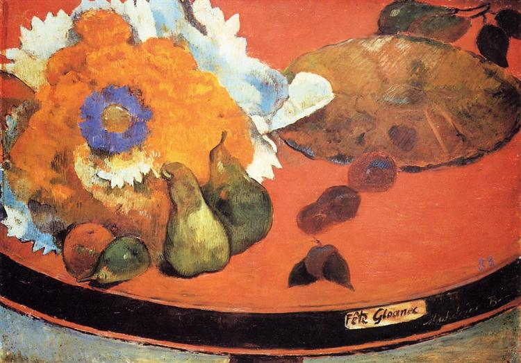 Still Life Fete Gloanec, 1888 - Paul Gauguin