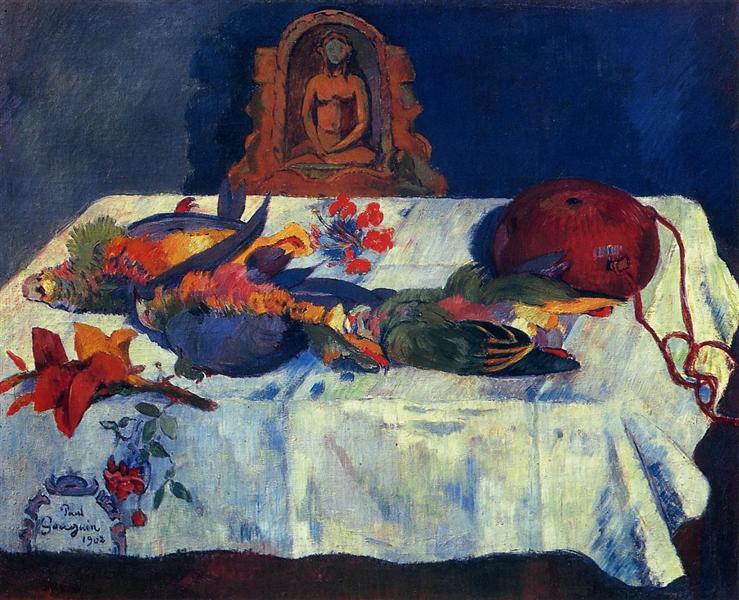 Still Life with Parrots, 1902 - Paul Gauguin