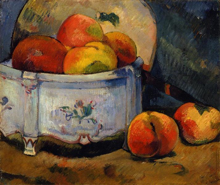 Still Life with Peaches, 1889 - Paul Gauguin