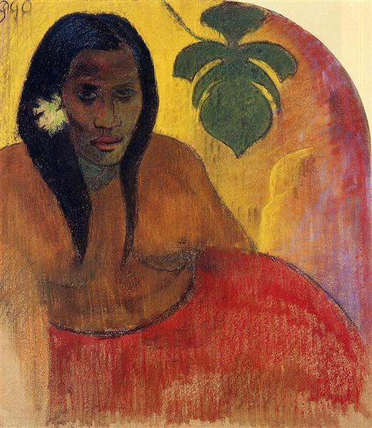 Tahitian Woman, 1894 - Paul Gauguin