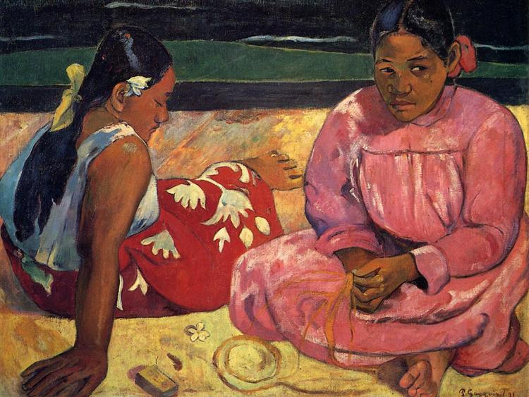 Tahitian women, 1891 - Paul Gauguin
