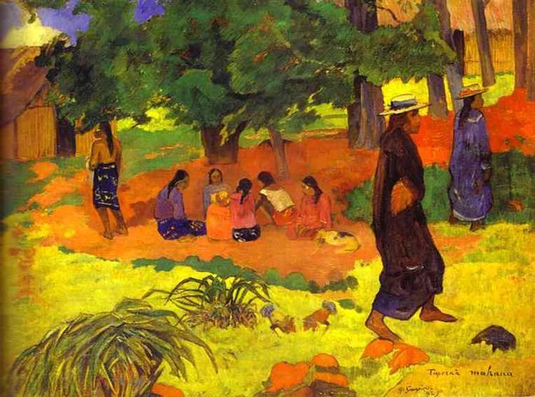 Taperaa Mahana, 1892 - Paul Gauguin