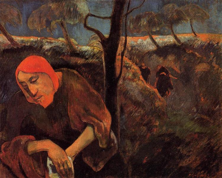 The Agony in the Garden, 1889 - Paul Gauguin