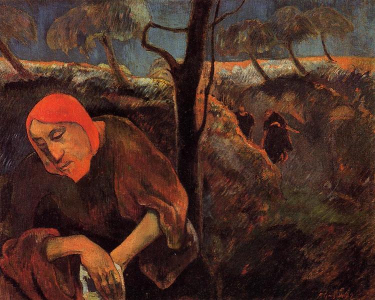 The Agony in the Garden - Paul Gauguin