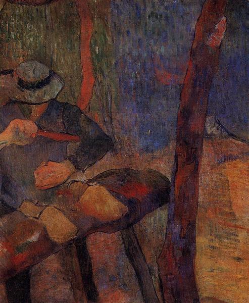 The clog-maker, 1888 - Paul Gauguin