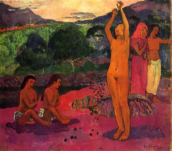 The Invocation, 1903 - Paul Gauguin