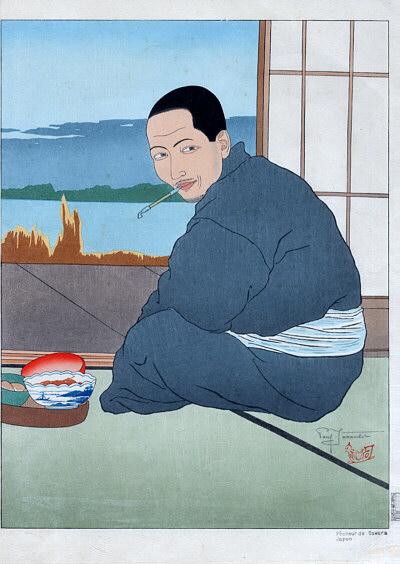 Pecheur De Sawara. Japon, 1936