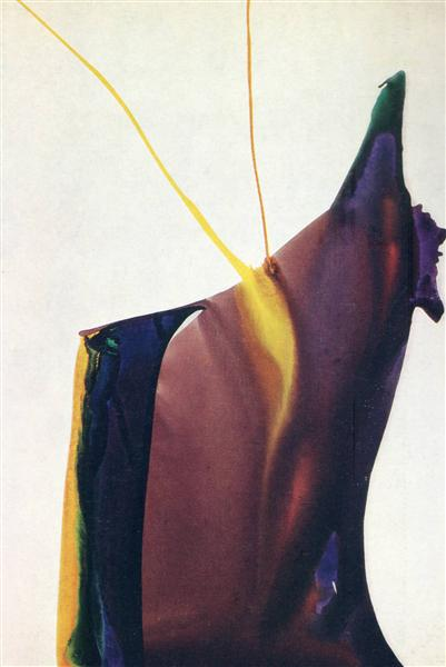 Phenomena Yellow Strike, 1963 - Paul Jenkins