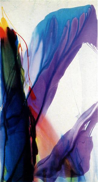 Phenomena Yonder Near, 1964 - Paul Jenkins