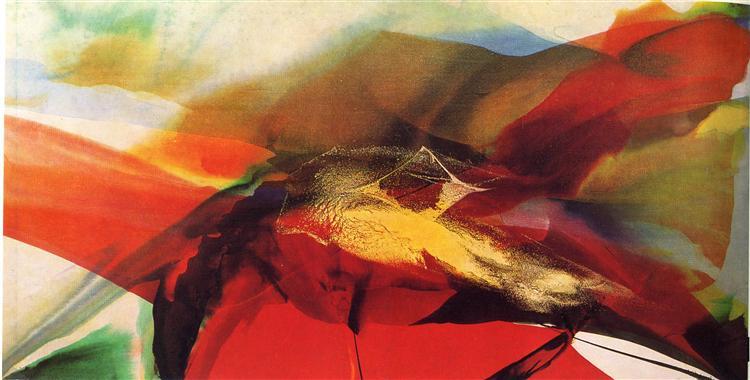 Phenomena Day of Zagorsk, 1966 - Paul Jenkins