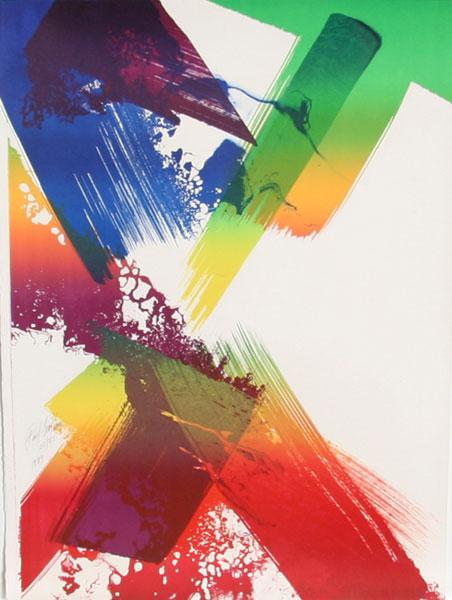 Untitled, 1983 - Paul Jenkins