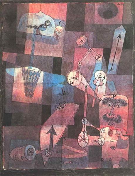 Analysis of diverse perversities, 1922 - Paul Klee