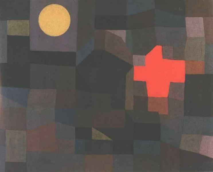 Fire, Full Moon, 1933 - Paul Klee