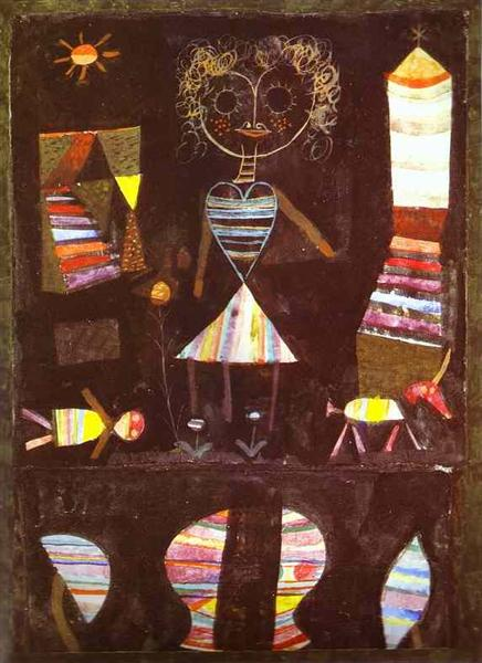 Puppet theater - Paul Klee