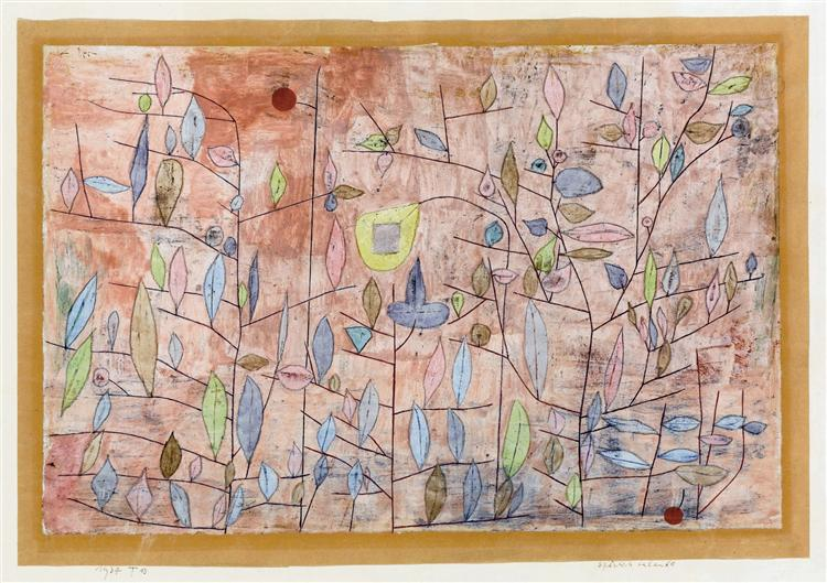 Sparse foliage, 1934 - Paul Klee