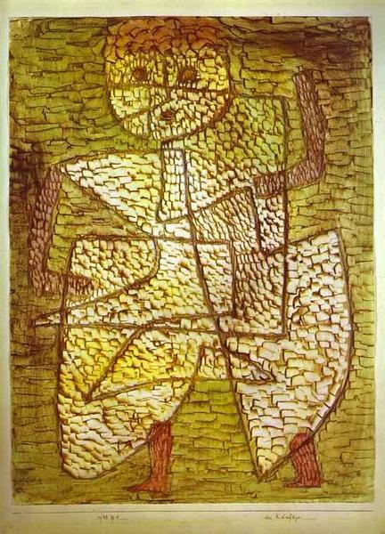 The Future Man, 1933 - Paul Klee