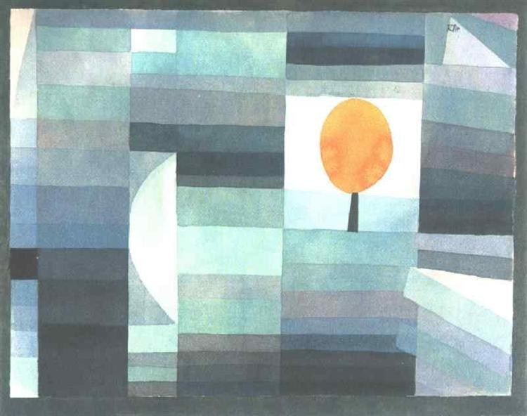 The messenger of autumn, 1922 - Paul Klee