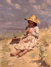 The Young Botanist - Paul Peel