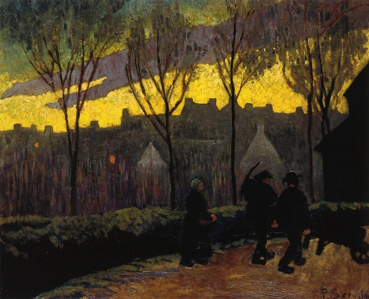 Evening, c.1906 - Paul Sérusier