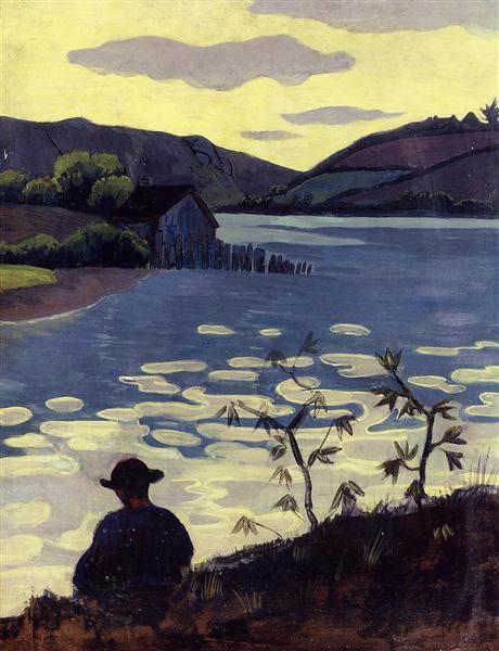 Fisherman on the Laita, 1890 - Paul Serusier