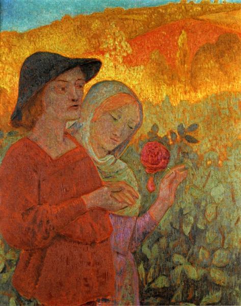 Mognonne Allons Voir si la Rose, 1910 - Paul Serusier