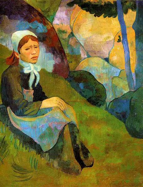 Solitude, Huelgoat Landscape, c.1892 - Paul Serusier