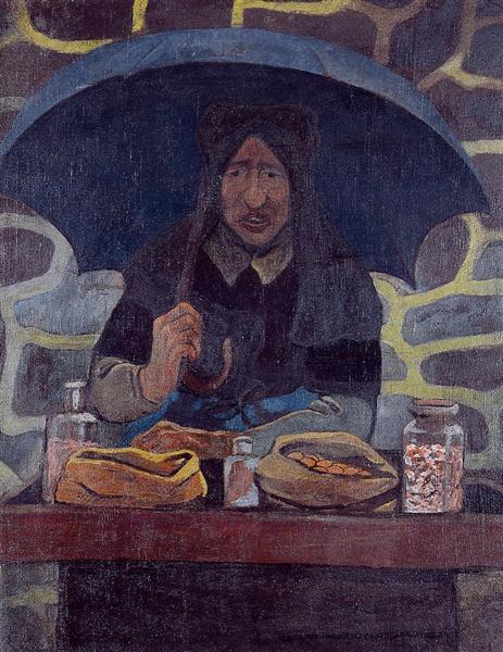 The Candy Merchant, c.1894 - Paul Serusier