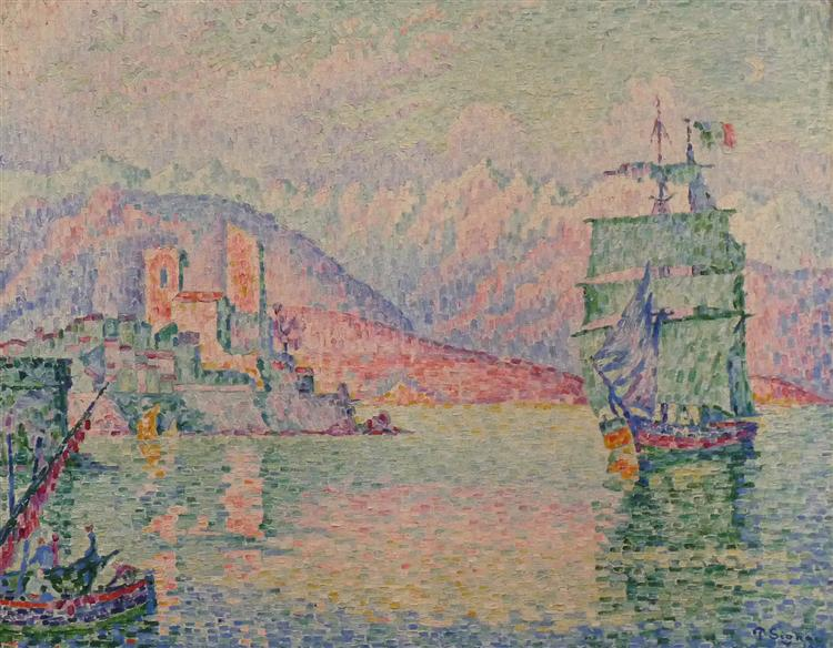 Antibes, Evening, 1914 - Paul Signac