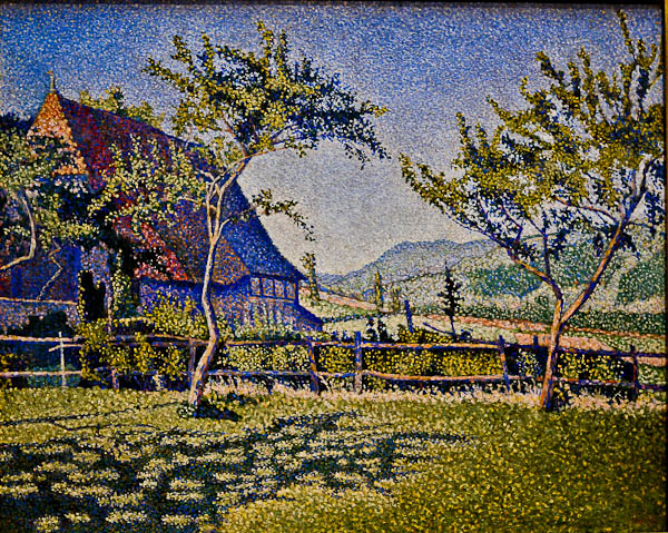 Comblat Castle, The Pre, 1887 - Paul Signac