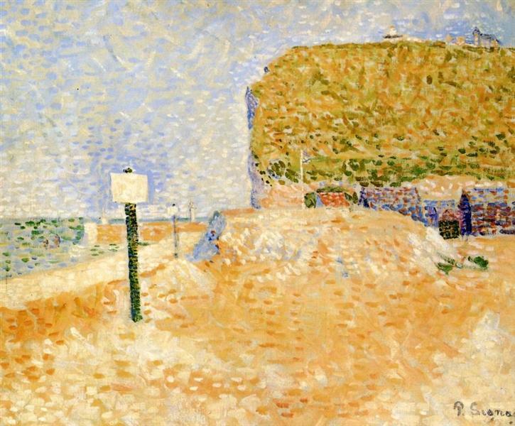 Fecamp, Sunshine, 1886 - Paul Signac