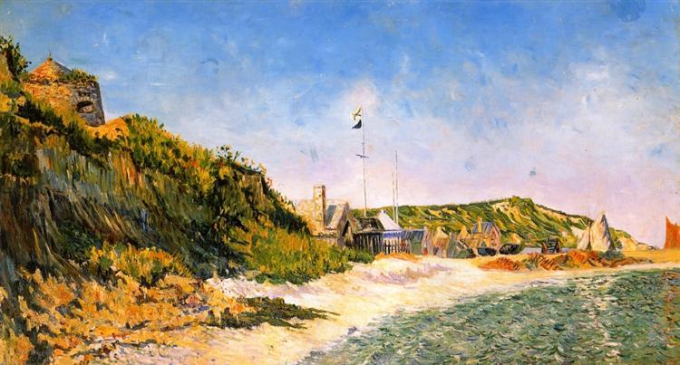 Port en Bessin, the Beach, 1883 - Paul Signac