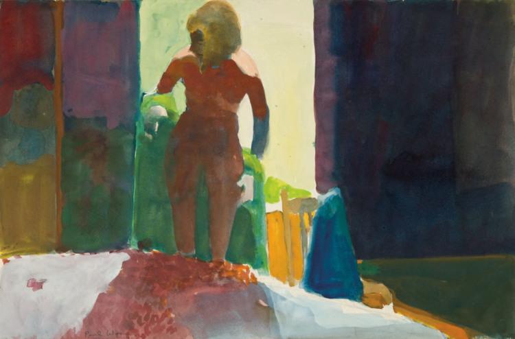 Untitled (Nude), 1961 - Paul Wonner