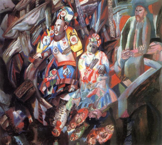 Восток и Запад, 1912 - 1913 - Павел Филонов