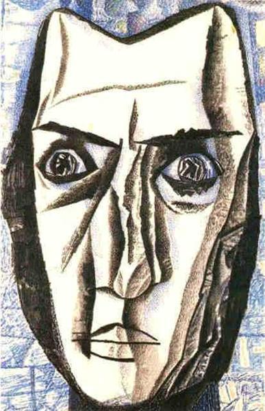 Head, 1918 - 1923 - Pavel Filonov