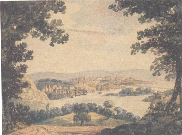 View of Washington, c.1812 - Pavel Svinyin