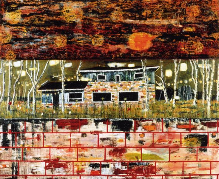 The House that Jack Built, 1992 - Peter Doig - WikiArt org