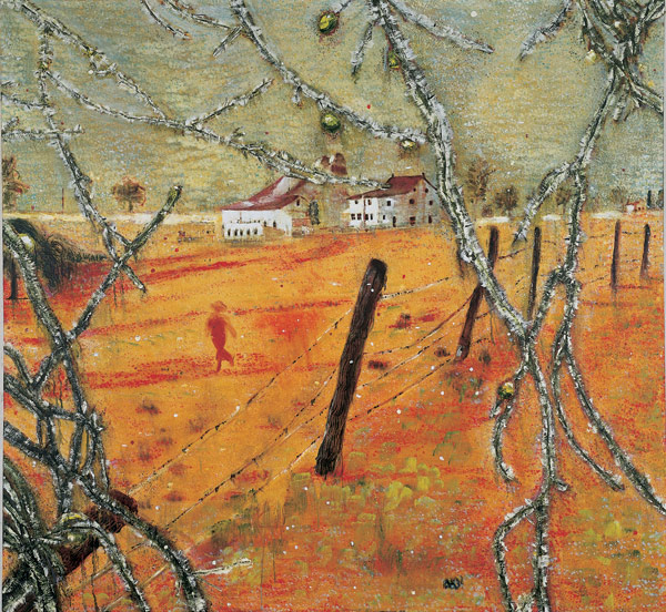 Young Bean Farmer, 1991 - Peter Doig
