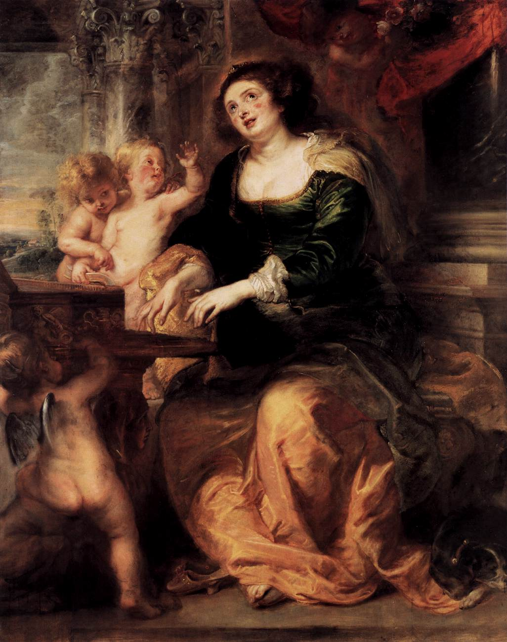Image result for rubens st cecilia
