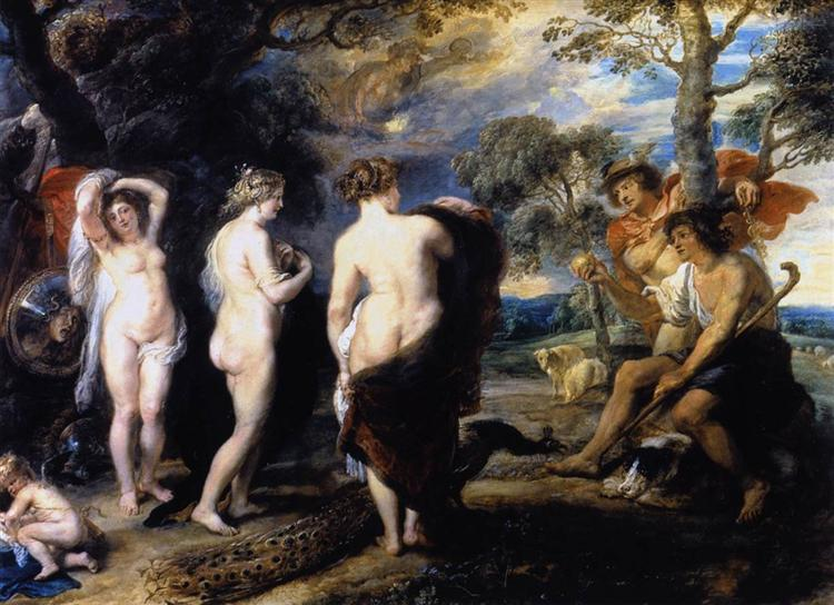 The Judgment of Paris - Peter Paul Rubens
