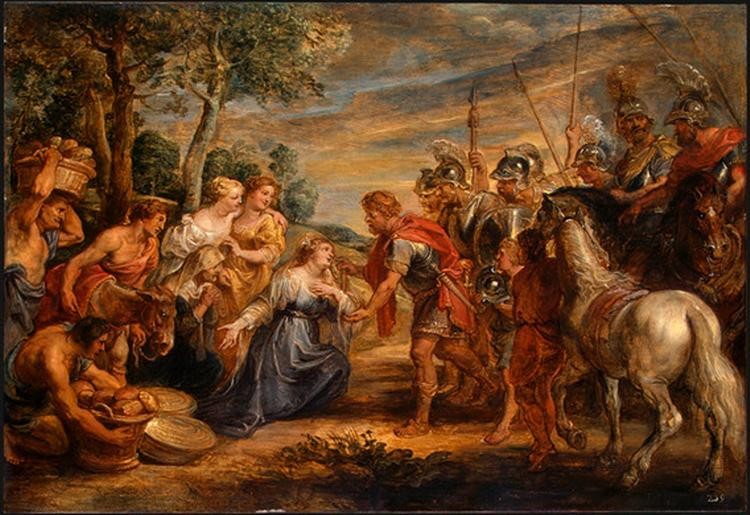 The Meeting of David and Abigail - Rubens Peter Paul