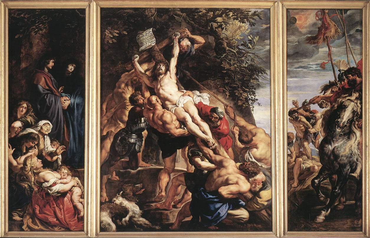 the raising of the cross by peter paul rubens The raising of the cross by peter paul rubens peter paul rubens is viewed in our time as one of the masters of his period in art living in the 1600's he was.