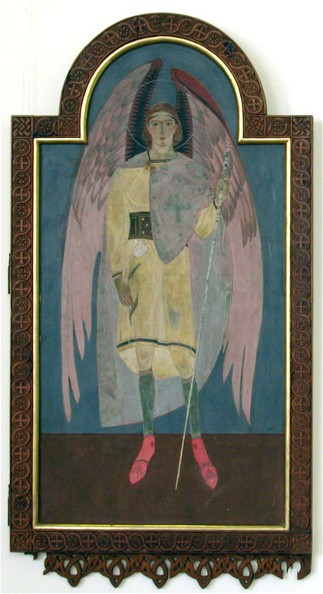 Icon of Archangel Gabriel - Petro Kholodny (Elder)