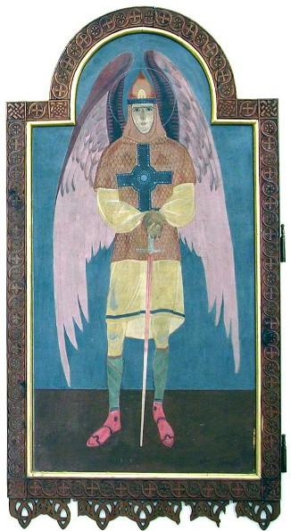 Icon of Archangel Michael - Petro Kholodny (Elder)