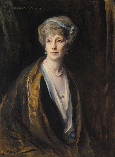 Lady Frances Gresley, 1924 - Philip de Laszlo