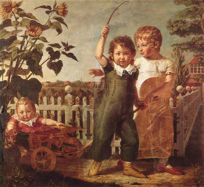 Die Hülsenbeckschen Kinder - Philipp Otto Runge