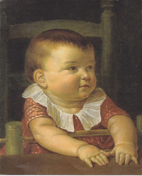 Portrait of Otto Sigismund - Philipp Otto Runge