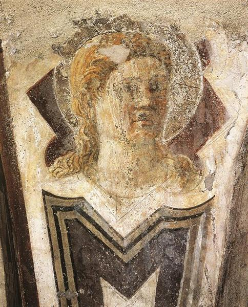 Angel, 1452 - Piero della Francesca